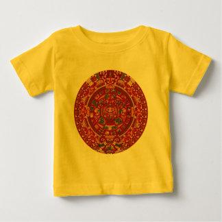 Den Mayan (Aztec) kalendern rullar T-shirt