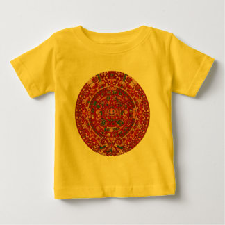 Den Mayan (Aztec) kalendern rullar Tshirts