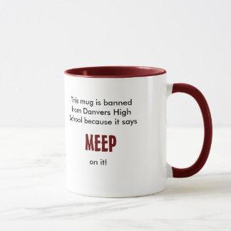 Den Meep muggen förbjudas från den Danvers Mugg