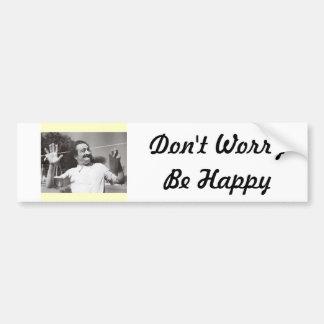 """Den Meher babaen """"oroar inte är den lyckliga"""" Bumb Bildekal"""