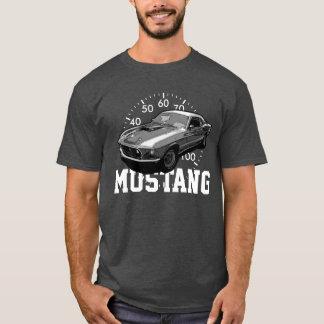 Den mekaniska mustangen driver tee shirt
