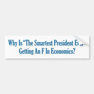 Den mest smart presidenten någonsin? bildekal