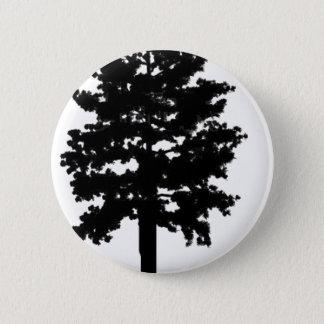 den midnatta skogen standard knapp rund 5.7 cm