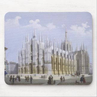 Den Milan domkyrkan från 'beskådar av Milan och de Musmattor