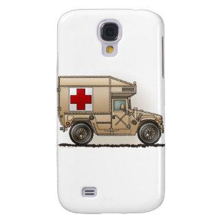 Den militära Hummerambulansen täcker Galaxy S4 Fodral