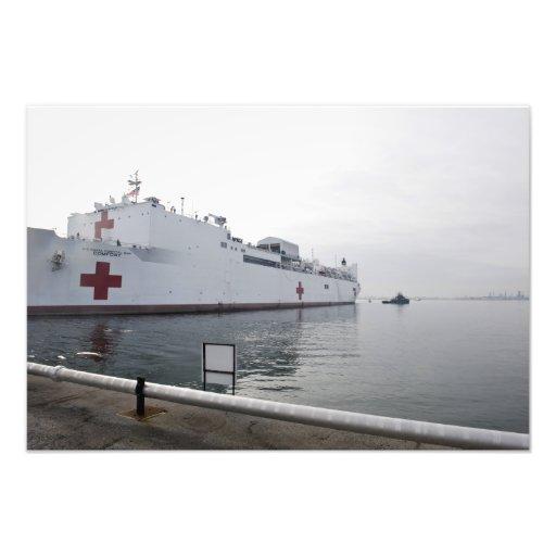 Den militära sealiften befaller sjukhusfrakten fotokonst