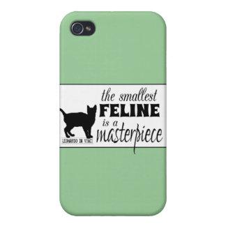 Den minsta kattdjuret är ett mästerverk - allt iPhone 4 skal