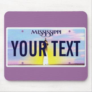 Den Mississippi registreringsskyltmusen vadderar Musmatta