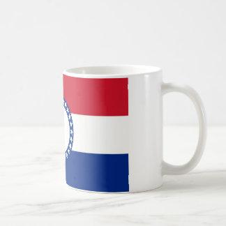 den missouri republiken sjunker den eniga statliga kaffemugg