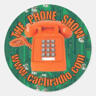 Den mobila klistermärken för Showcactiradio.com