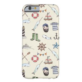 Den mobila sjömannen barely there iPhone 6 skal
