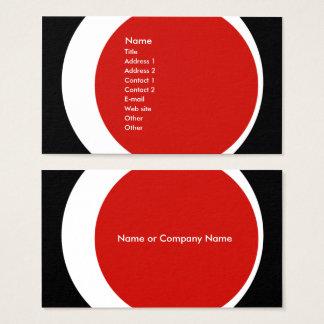 Den moderna affären/social nätverkande profilerar visitkort