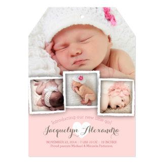 Den moderna babyen drömm sött 12,7 x 17,8 cm inbjudningskort