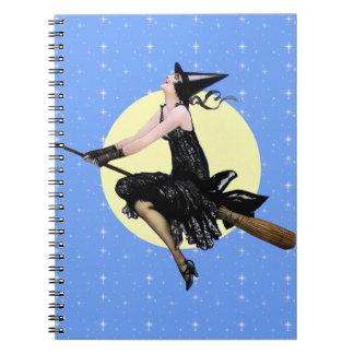 Den moderna häxaanteckningsboken anteckningsbok med spiral