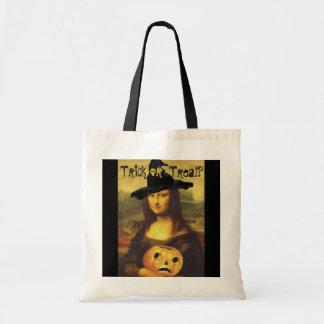 Den Mona Lisa häxan & bus eller godis för JOL Tygkasse