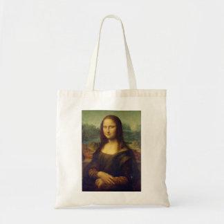 Den Mona Lisa totot hänger lös Tygkasse