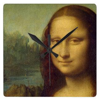 Den Mona Lisa väggen tar tid på Fyrkantig Klocka