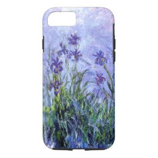 Den Monet lilan Irises tufffodral för iPhone 7