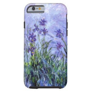 Den Monet lilan Irises tufffodral för iPhonen 6/6S Tough iPhone 6 Fodral