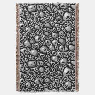 Den monokromma stenen belägger med tegel filt