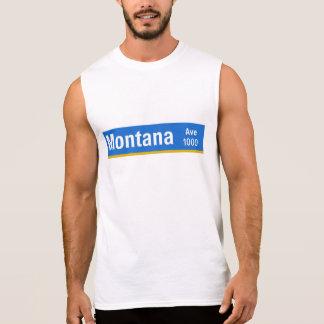 Den Montana avenyn, Los Angeles, CA-gata Sleeveless T-shirt