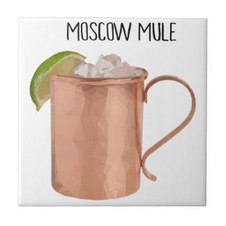 Den Moscow mulen förkopprar Poly geometrisk design Kakelplatta
