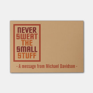 Den Motivational anpassningsbar noterar Post-it Lappar