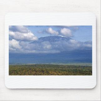 Den Mount Kilimanjaro Tanzania landmarken landskap Musmatta