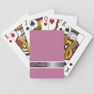 Den namngav rosan vinkar spelkort