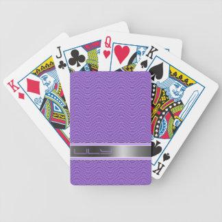 Den namngav violeten vinkar spelkort