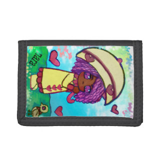 Den Nandi flickan regnar & regnbågeplånboken