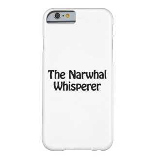 den narwhal whispereren barely there iPhone 6 fodral