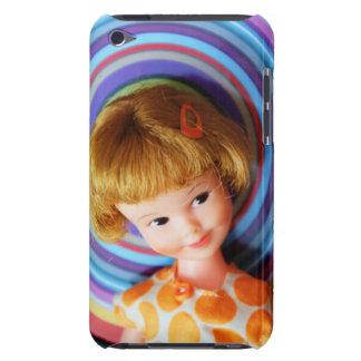 Den nätt encentmyntet Brite med cirklar iPod Touch Case-Mate Case