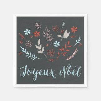 Den naturliga Noël julhelgdag kritiserar in Pappersservetter