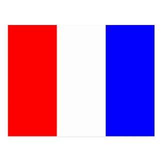 Den nautiska alfabetflagga signalerar brev T Vykort