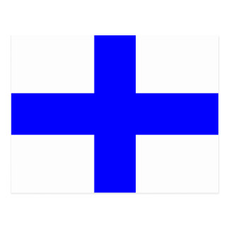 Den nautiska alfabetflagga signalerar brev X Vykort