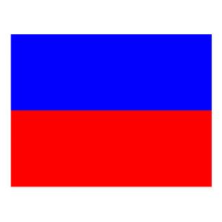 Den nautiska flagga signalerar brev E (eka), Vykort