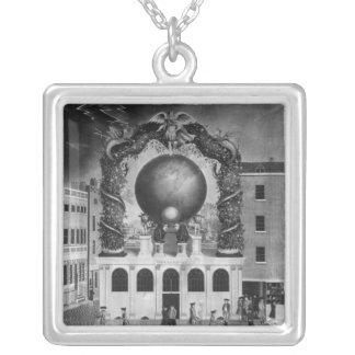 Den nautiska skulden av 1782 silverpläterat halsband
