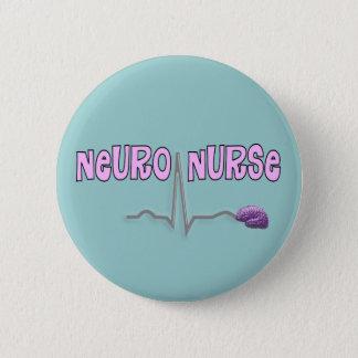 Den Neuro sjuksköterskan knäppas Standard Knapp Rund 5.7 Cm