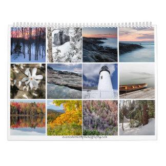 Den New England kalendern Kalender