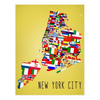 Den New York City grannskapen sjunker vykort