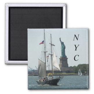Den New York City hamnen reser fotoet Magnet