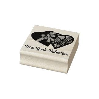 Den New York valentinen NYC boxas av Stämpel
