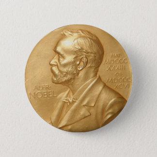 Den Nobel prisen knäppas Standard Knapp Rund 5.7 Cm