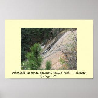 Den norr Cheyenne kanjonen parkerar Poster