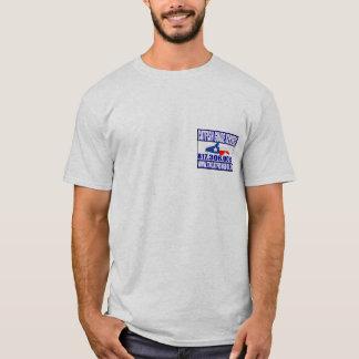 Den norr Texas havskatten vägleder tjänste- T Shirts