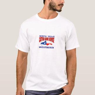 Den norr Texas havskatten vägleder tjänste- Tee Shirt
