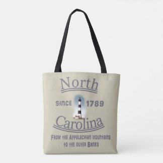 Den North Carolina totot hänger lös - totot med Tygkasse