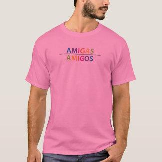 Den nya AMIGAS-/AMIGOSfullt-färgen logotyp T-shirt