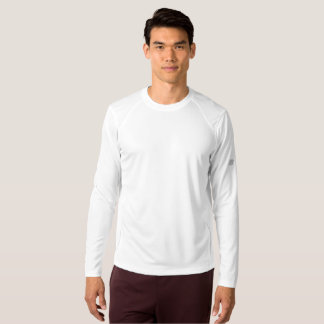 Den nya manar balanserar långärmadskjortan t-shirts